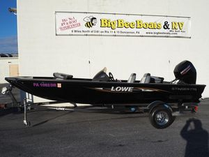 Used Lowe Stinger 175 Freshwater Fishing Boat For Sale