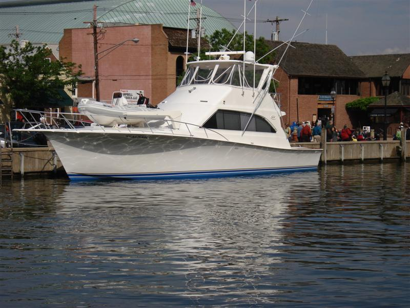 1995 used ocean yachts 53 super sport 2 stateroom for Used fishing boats for sale in md