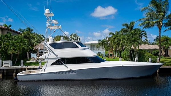Used Viking Enclosed Bridge Motor Yacht For Sale