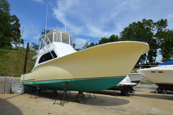 Used Custom Carolina Capps Boatworks 41 Convertible Fishing Boat For Sale