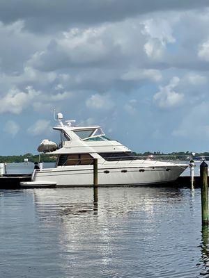 Used Carver 450 Voyager-Stabilizer Cruiser Boat For Sale
