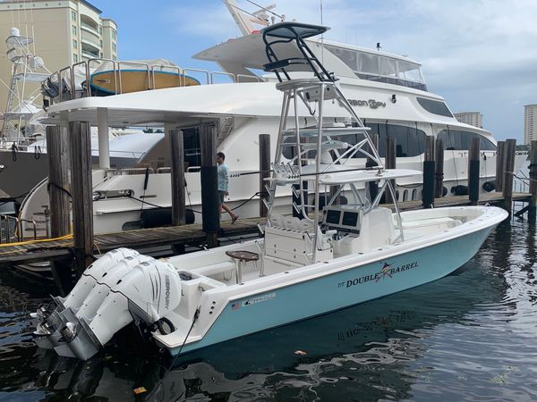 Used Contender 39' Step Hull w/SeaKeeper Center Console Fishing Boat For Sale