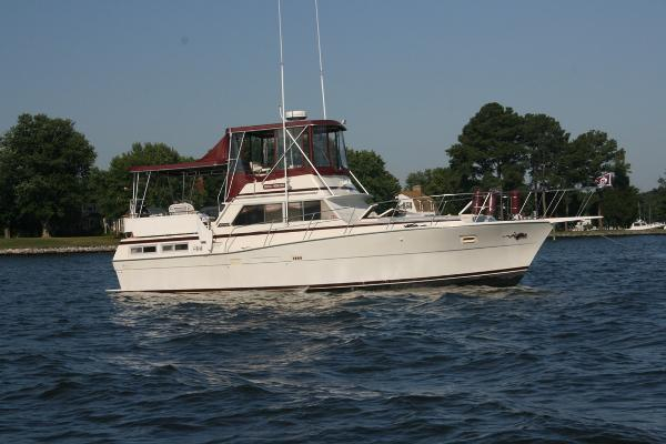 Used Viking Double Cabin Motor Yacht Motor Yacht For Sale