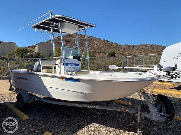 Used Triumph 1700 Skiff CC Center Console Fishing Boat For Sale