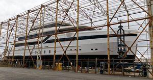 New Custom Velena Super Yacht 50M Mega Yacht For Sale