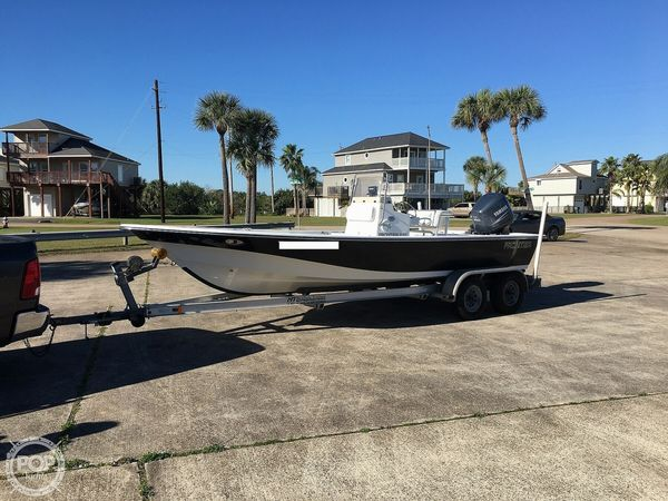 Used Frontier 210 Center Console Fishing Boat For Sale
