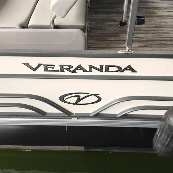 Used Veranda VR25 VLC Pontoon Boat For Sale
