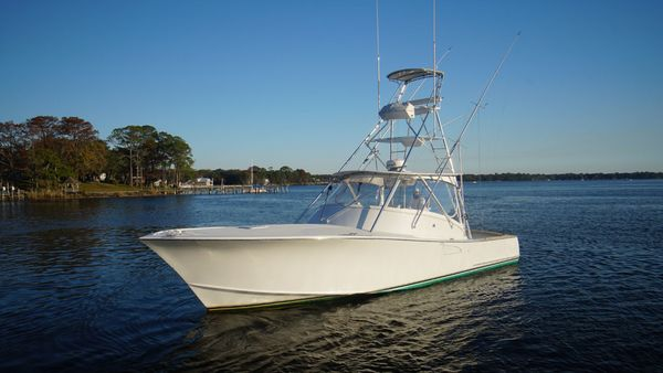 Used Tides Custom Carolina Express Saltwater Fishing Boat For Sale