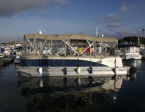 Used Avalon Catalina Pontoon Boat For Sale