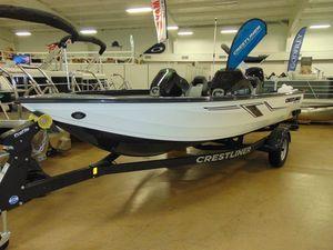New Crestliner 1850 Bass Hawk Pedesta Bass Boat For Sale
