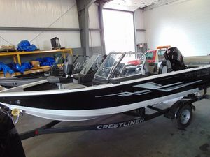 New Crestliner 1850 Super Hawk Freshwater Fishing Boat For Sale