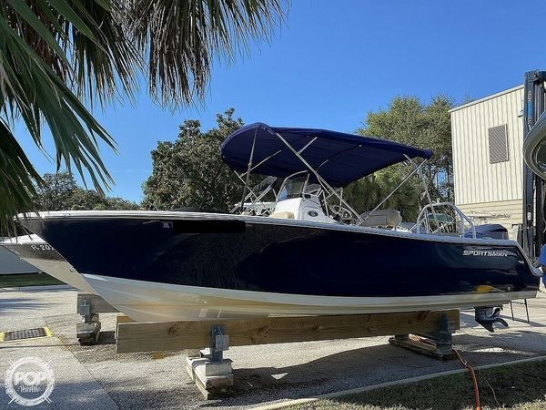 Used Sportsman 232 Open Center Console Fishing Boat For Sale