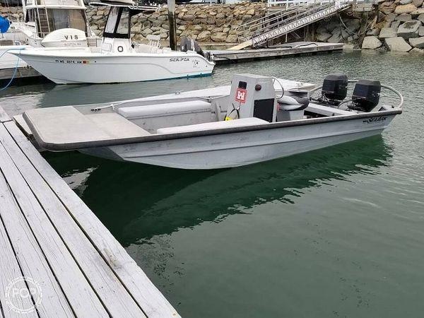 Used Sea Ark RiverRunner 18 Aluminum Fishing Boat For Sale