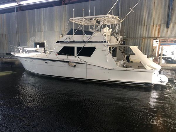 Used Hatteras 52 Convertible Big Daddy Convertible Fishing Boat For Sale