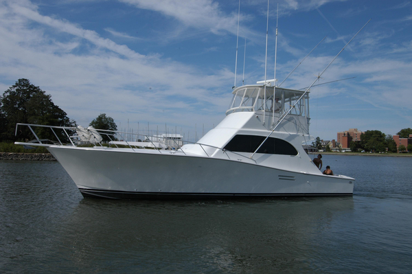 Used Post Marine Convertible Sportfish Convertible Fishing Boat For Sale