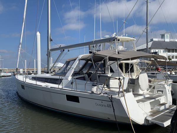 Used Beneteau Oceanis 48 Cruiser Sailboat For Sale