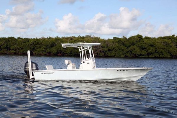 Used Sportsman 247 Masters Platinum Bay Boat For Sale
