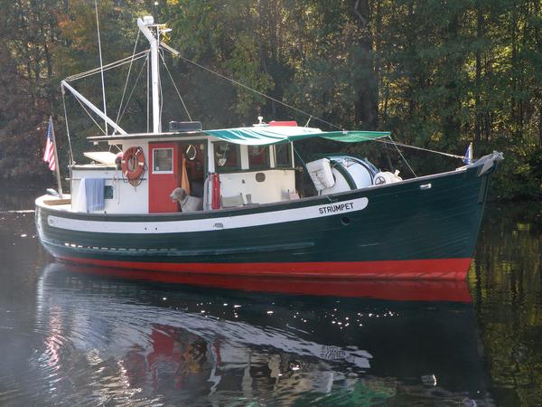 Used Jensen Custom Trawler Yacht 35' Friday Harbor Trawler Boat For Sale