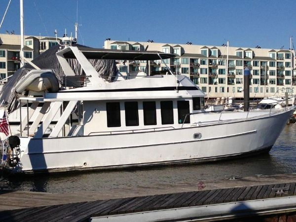 Used Bruce Roberts Trawler Boat For Sale