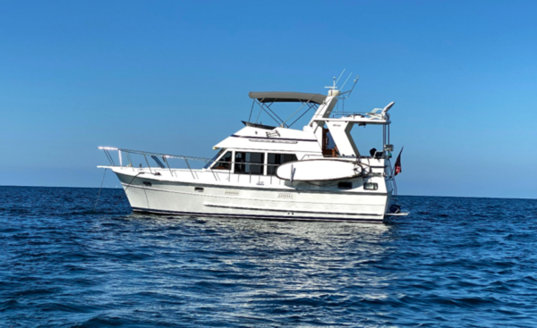 Used Heritage East 36 Trawler Boat For Sale