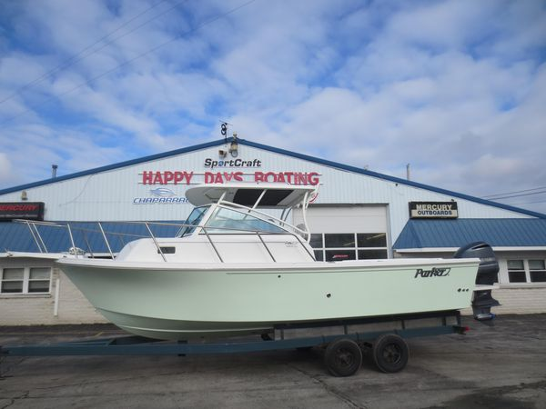 New Parker 2510 XL Walkaround Fishing Boat For Sale