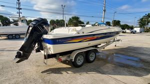 Used Bayliner 217 Outboard Deck Boat For Sale