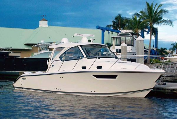 Used Pursuit OS 325 Offshore Saltwater Fishing Boat For Sale