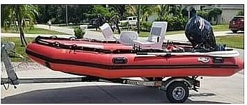 Used Achilles 124 SG Inflatable Boat For Sale