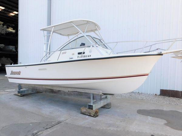 Used Shamrock 200 Walkaround Center Console Fishing Boat For Sale