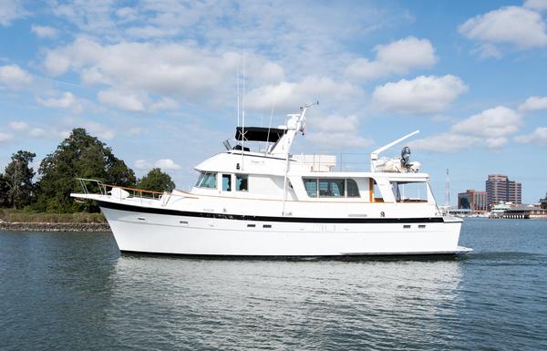 Used Hatteras 58 Long Range Cruiser Trawler Boat For Sale