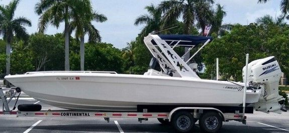 Used Concept Boats 27 Performance Fish with Suzukis Under Warranty Center Console Fishing Boat For Sale