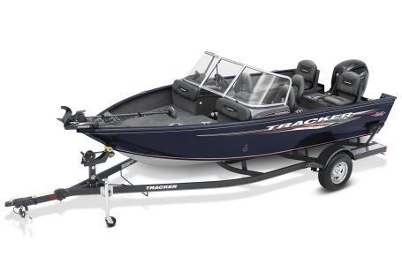 New Tracker Pro Guide V175 CB Freshwater Fishing Boat For Sale