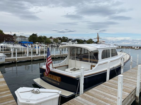 Used Jarvis Newman Endurance 30 Downeast Fishing Boat For Sale