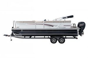 New Ranger Reata 220CR w/150L 4S Pontoon Boat For Sale