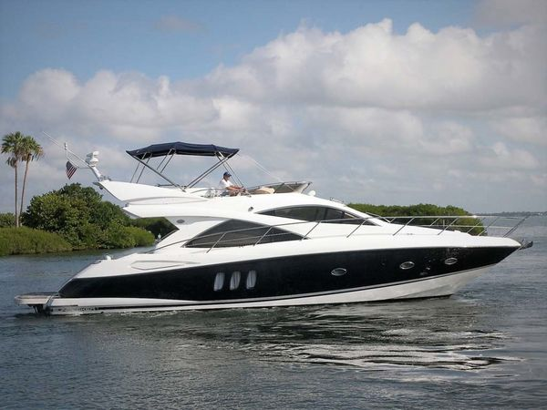 Used Sunseeker Manhattan Flybridge Boat For Sale