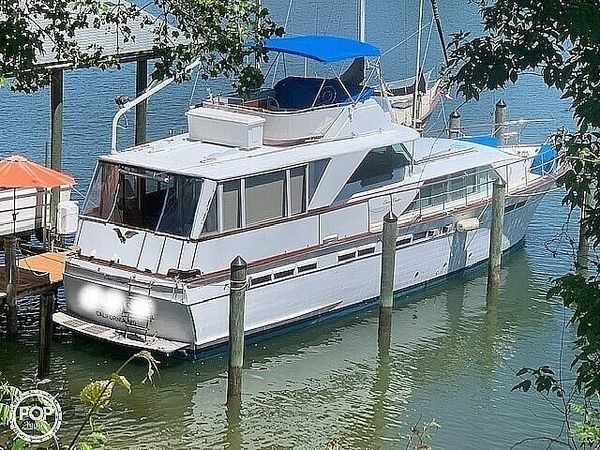 Used Chris-Craft 57 Constellation Aft Cabin Boat For Sale
