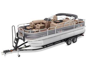New Sun Tracker Fishin' Barge 22 XP3 Pontoon Boat For Sale