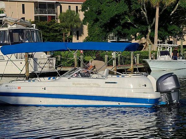 Used Splendor Sunstar Deck Boat Bowrider Boat For Sale