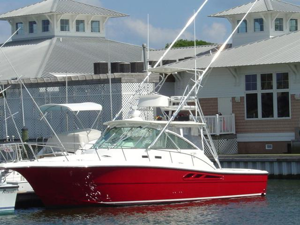 Used Rampage 38' Express Sports Fishing Boat For Sale