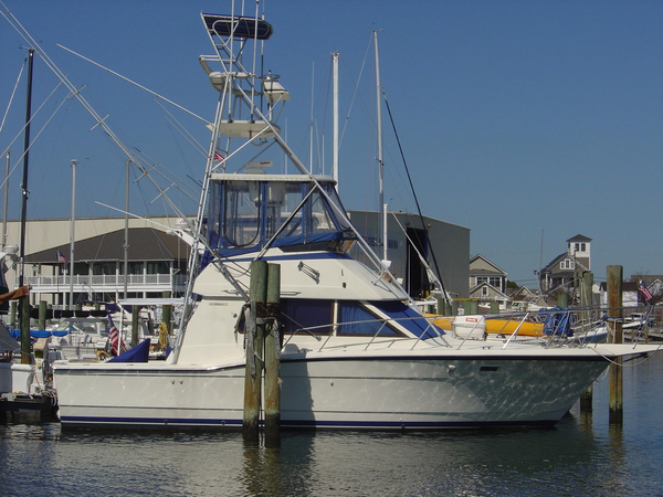 Used Hatteras 36 Convertible Sports Fishing Boat For Sale