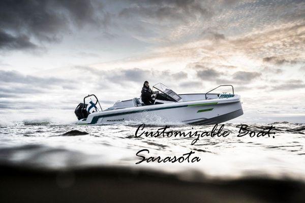 New Axopar x Jobe Center Console Fishing Boat For Sale