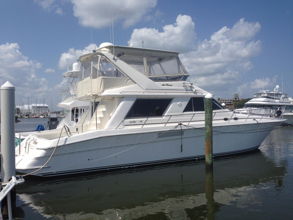 Used Sea Ray Sedan Bridge 550 Flybridge Boat For Sale