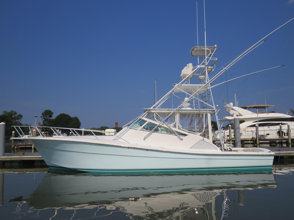 Used Topaz 40 Express Saltwater Fishing Boat For Sale