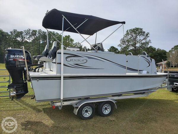 Used Beachcat Saltwater 20 Classic Pontoon Boat For Sale
