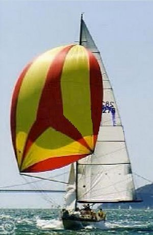 Used Wylie 39 Fractional Rig Racer and Cruiser Sailboat For Sale