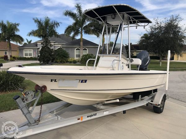 Used Key West 186 Bay Reef Center Console Fishing Boat For Sale