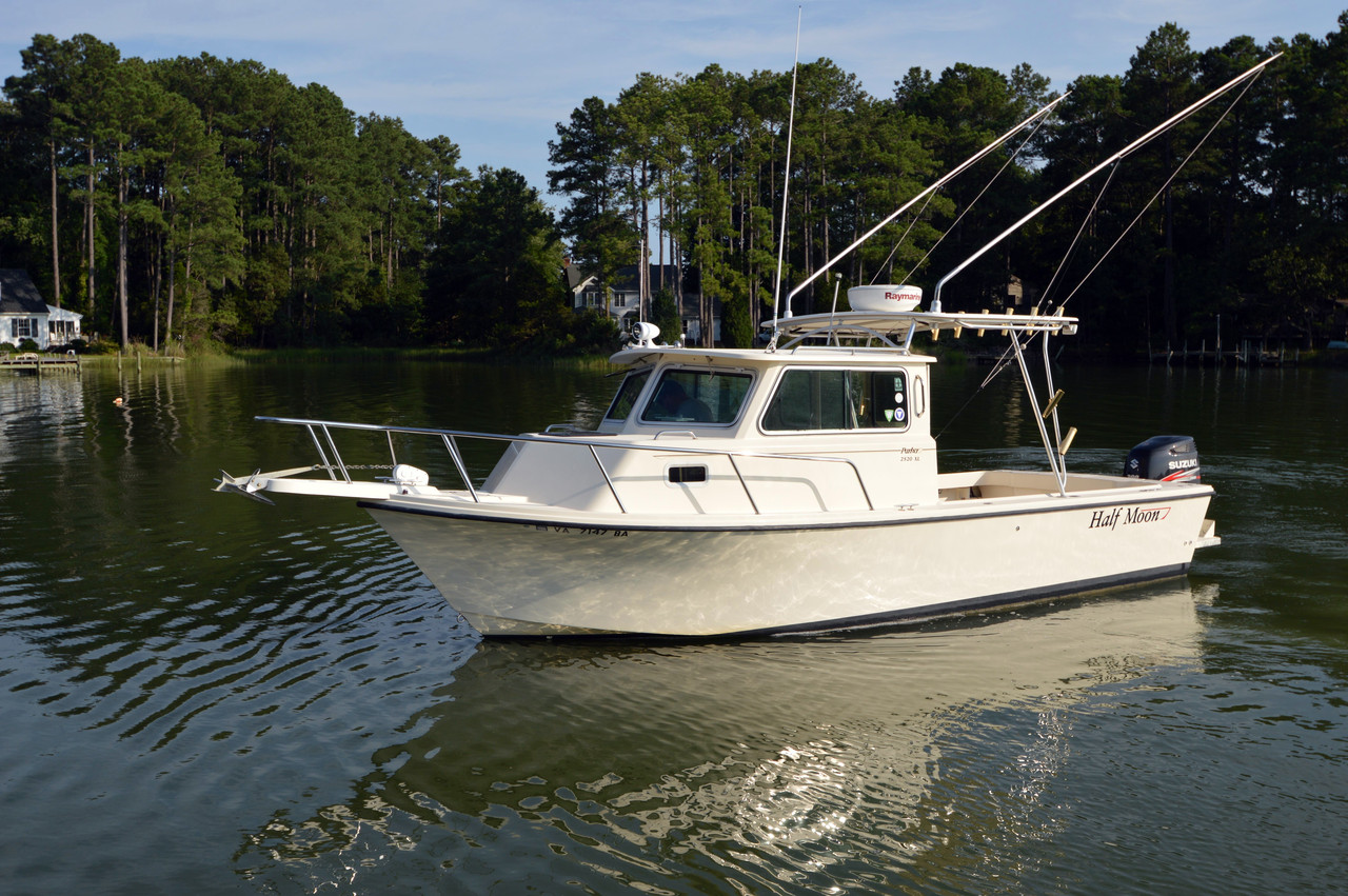 2003 used parker 2520 xl sport cabin saltwater fishing