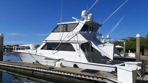Used Viking Convertible Enclosed Bridge Sports Fishing Boat For Sale