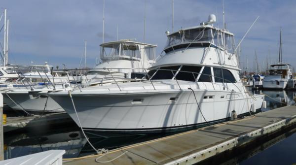 Used Bertram 46.6 Convertible Fishing Boat For Sale
