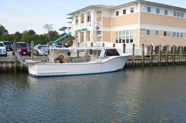 Used Hatteras Commercial Fishing Vessel Commercial Boat For Sale